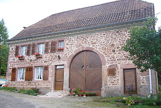 Fouchy - Fouchy: recently restored nineteenth century farmhouse