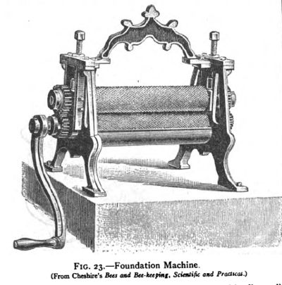 Foundation press in the Encyclopaedia Britannica (1911) Foundation Machine.png