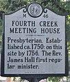 Fourth Creek Meeting House highway marker 46.jpg