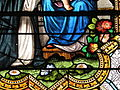 Fr Chapelle Notre-Dame-de-Lhor Saint Benedict stained glass - flowers detail.jpg