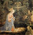 Fra Filippo Lippi - Adoration of the Child with Saints - WGA13298.jpg