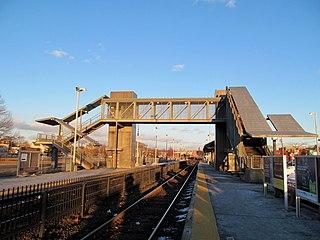 Framingham station MBTA and Amtrak railroad station in Framingham, Massachusetts.