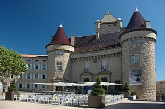 Ardèche - The construction of the Château d'Aubenas began in the 12th century.