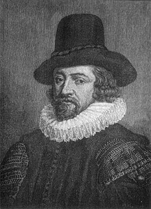 Sir francis bacon , after an original attributed to paul van somer i