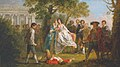 Francis Hayman (1708-1776) - The Wrestling Scene from 'As You Like It' - N06206 - National Gallery.jpg