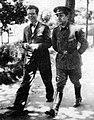 Francisco Fernández del Riego e Ricardo Carballo Calero, 1932, Alameda de Santiago de Compostela.jpg