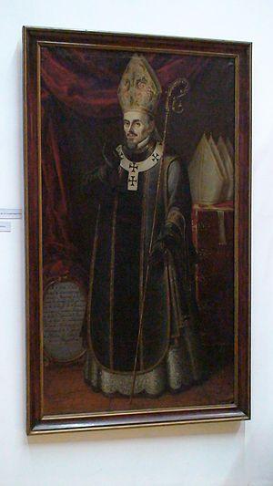 Francisco de Aguiar y Seijas - Painting of Aguiar in the Pinacoteca Profesa in Mexico City.