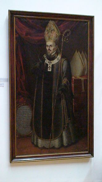 Francisco de Aguiar y Seijas - Painting of Aguiar in the Pinacoteca Profesa in Mexico City.