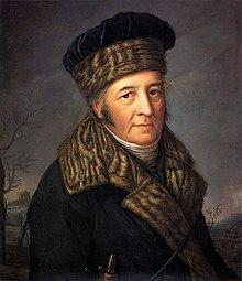 Porträt von Friedrich Metzler, um 1770 (Quelle: Wikimedia)