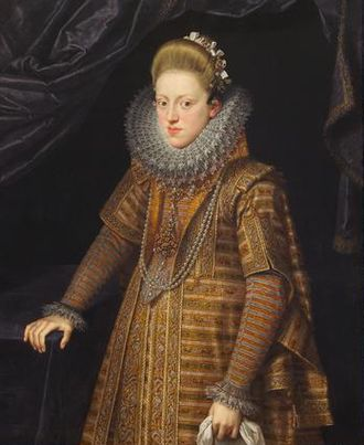 Archduchess Eleanor of Austria (1582–1620) - Portrait of Archduchess Eleanor, by Frans Pourbus the younger, ca. 1603