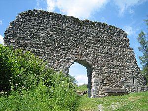 Burg Frauenberg von aussen