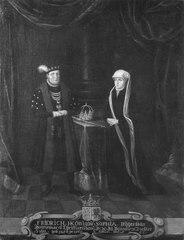 Fredrik I, 1471-1533, och Sofia, 1498-1568, konung och drottning av Danmark och Norge