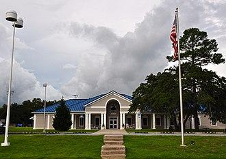 Freeport, Florida - Freeport City Hall, September 2014.
