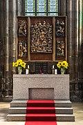 Hoogaltaar in de parochiekerk te Freistadt in Opper-Oostenrijk