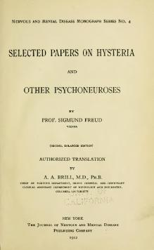 Freud - Selected papers on hysteria and other psychoneuroses.djvu