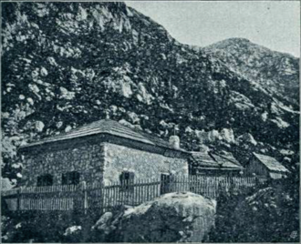 Johannes Frischauf - The Frischauf Lodge at Okrešelj (Alois Beer, 1903)