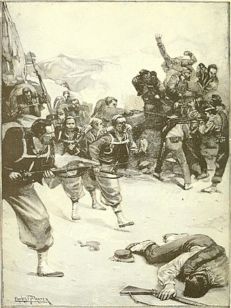 Battle of Mentana - Victory of French Zouaves