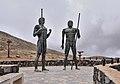 Fuerteventura - Mirador de Guise y Ayose - Statues.jpg