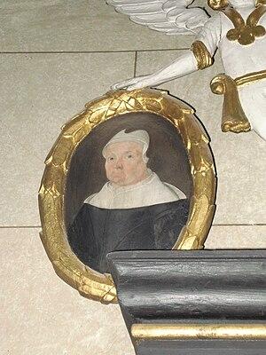 Brita Olsdotter - Image: Götlunda kyrka epitafium Brita Olsdotter