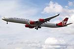 G-VWKD A340-600 Virgin Atlantic (14764668356).jpg