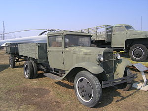 Chaco War - Ford truck like those used by both armies to resupply their troops