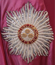 order of the bath wikipediaan embroidered representation, or \