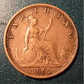GREAT BRITAIN, VICTORIA, 1861 -FARTHING a - Flickr - woody1778a.jpg