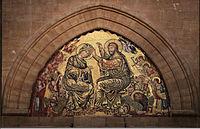 Gaddo gaddi (attr.), incoronazione della Vergine.JPG