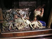 Cera della peste opera di Gaetano Zumbo, (XVII secolo) conservata al museo della Specola di Firenze