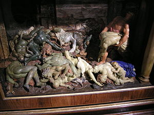 Gaetano Giulio Zumbo - Wax statues depicting effects of the plague, La Specola, Florence