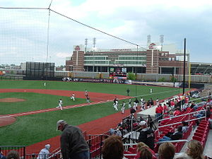 Jim Patterson Stadium - A game in 2005