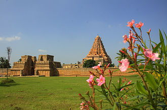 Rajendra Chola I - Gangaikonda Cholapuram was built by Rajendra Chola to celebrate his success in the Ganges Expedition