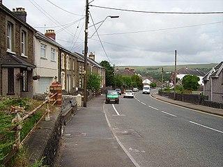 Garnant Human settlement in Wales
