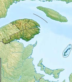 Voir la carte administrative de la zone Gaspésie–Îles-de-la-Madeleine