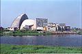 Gate Complex And Convention Centre Complex Under Construction - Science City - Calcutta 1996-02-21 988.JPG