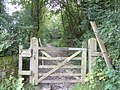 Gate to Green Lane - geograph.org.uk - 1012189.jpg