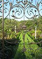 Gates in the garden of Chawton House.jpg