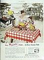 Gay Simtex cloths for every summer table, 1948.jpg