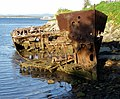 Gayundah shipwreck,woody point,22-08-2013 (7) (9564307765).jpg