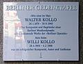 Gedenktafel Friedrichstr 101 (Mitte) Walter und Willi Kollo.jpg