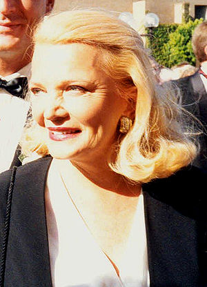 Gena Rowlands on the red carpet at the 1992 Em...