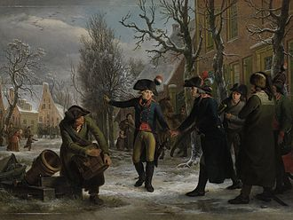 Herman Willem Daendels - General Daendels Taking Leave of Lieutenant-Colonel Krayenhoff (1795)