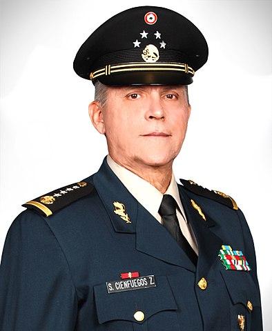 Professional headshot of General Salvador Cienfuegos