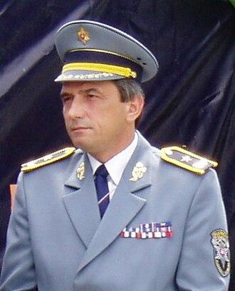 Law enforcement in Slovakia - General Tibor Gaplovský, head of Slovak Railway Police 1998 - 2010