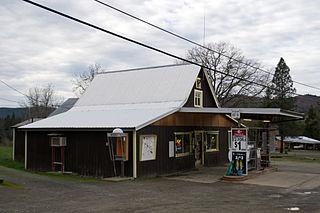 Days Creek, Oregon Census-designated place in Oregon, United States