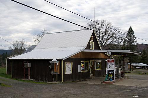 Days Creek mailbbox
