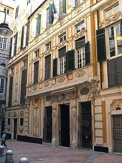 palace in Genoa, Italy