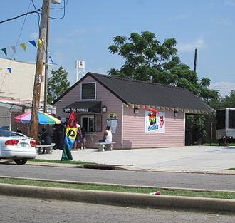 Milneburg, New Orleans - Sno-ball shop, Summer 2011