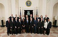 George W. Bush Cabinet 2008.jpg