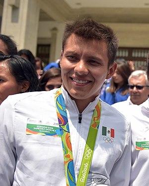 Germán Sánchez (diver) - Germán Sánchez (2016)